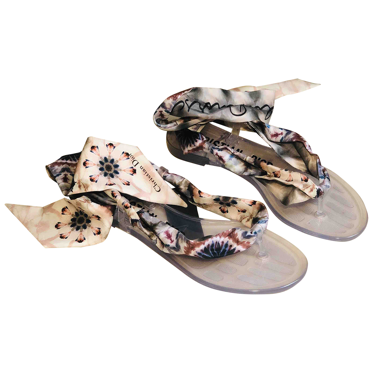 Sandalias de Lona Dior