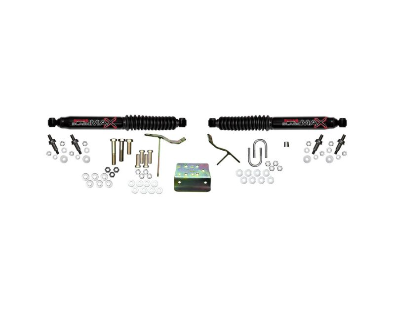Skyjacker 8213 Steering Stabilizer Dual Kit Black Dual Kit 03-08 Dodge Ram 2500/3500