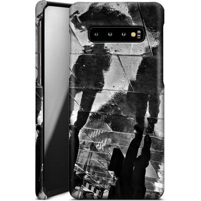 Samsung Galaxy S10 Plus Smartphone Huelle - It Must Be Monday Morning von Ronya Galka