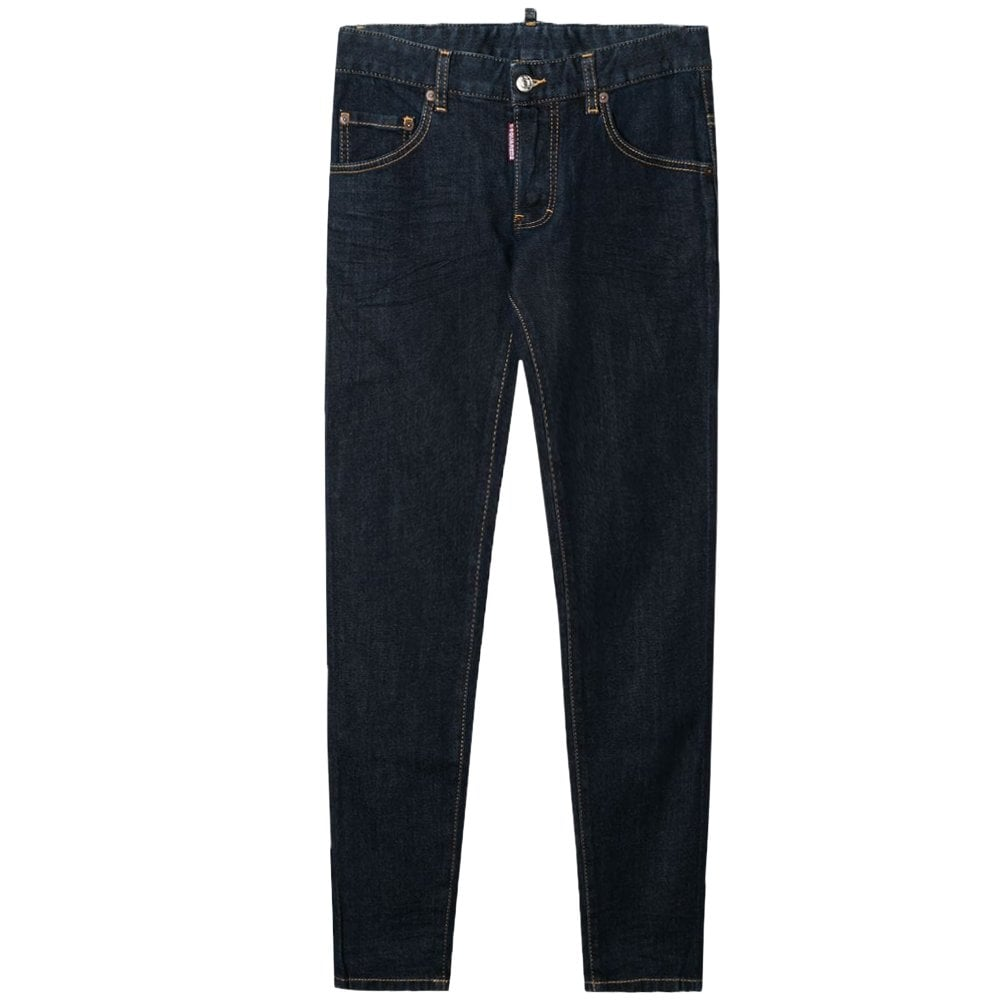 DSquared2 Kids Skater Icon Jeans Colour: NAVY, Size: 8 YEARS