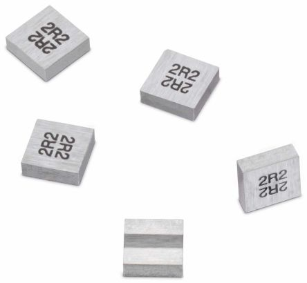 Wurth Elektronik Wurth, WE-MAPI, 3020 Shielded Wire-wound SMD Inductor with a Magnetic Iron Alloy Core, 6.8 μH ±20% Wire-Wound 1.6A Idc (5)