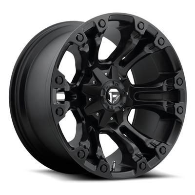 Fuel Off-Road, Vapor D560, 18x9 Wheel with 6 on 5.5 and 6 on 135 Bolt Pattern - Matte Black - D56018909845