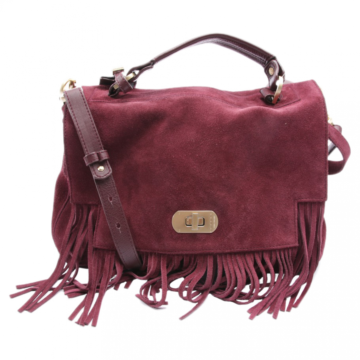 Zadig & Voltaire \N Red Leather handbag for Women \N