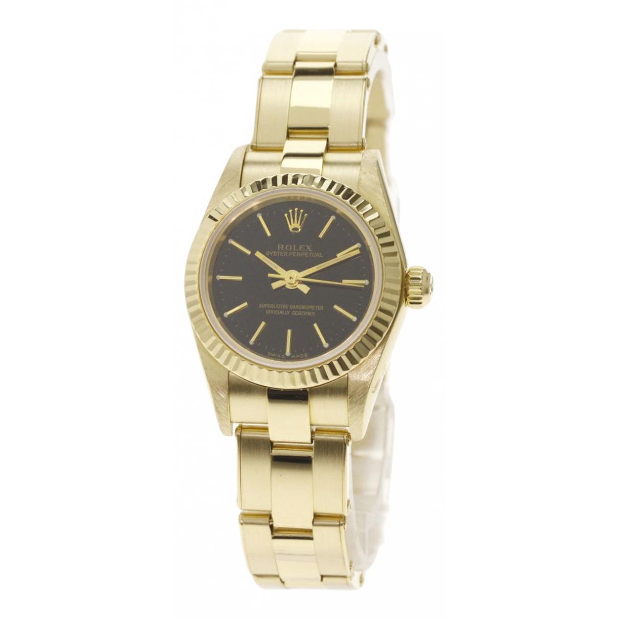 Reloj Lady Oyster Perpetual 26mm de Oro amarillo Rolex
