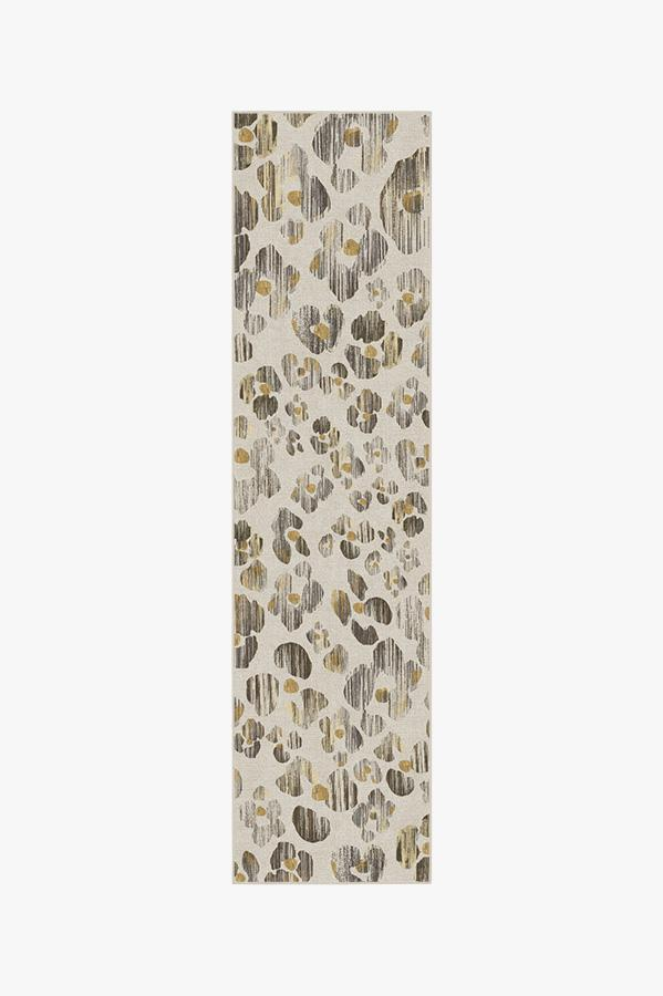 Washable Rug Cover | Ayana Leopard Rug | Stain-Resistant | Ruggable | 2.5x10