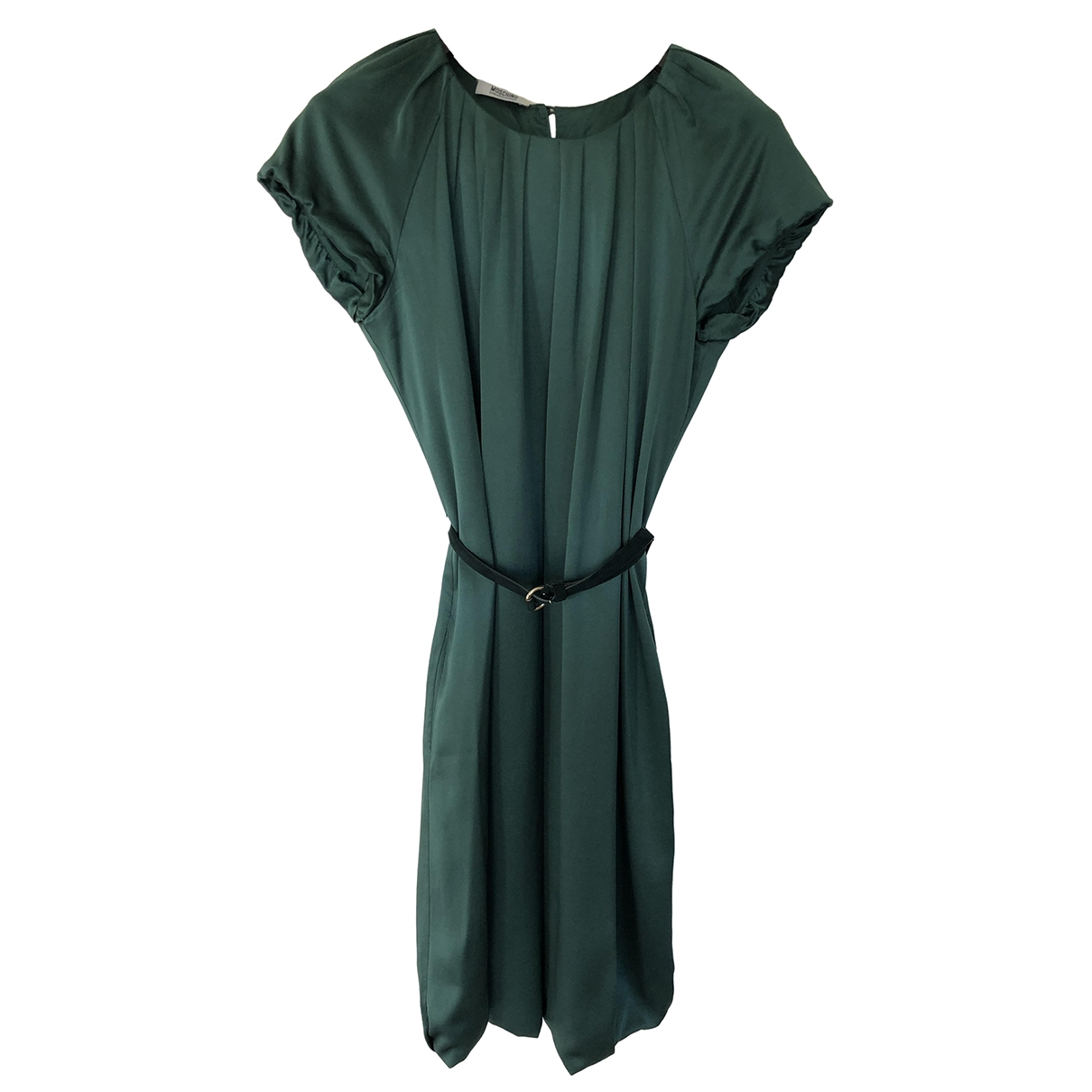 Moschino Cheap And Chic \N Green Silk dress for Women 40 IT