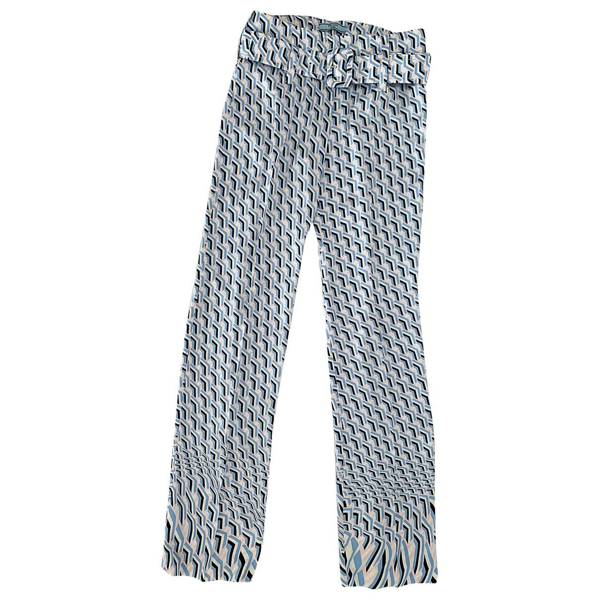 Prada N White Trousers for Women 38 IT