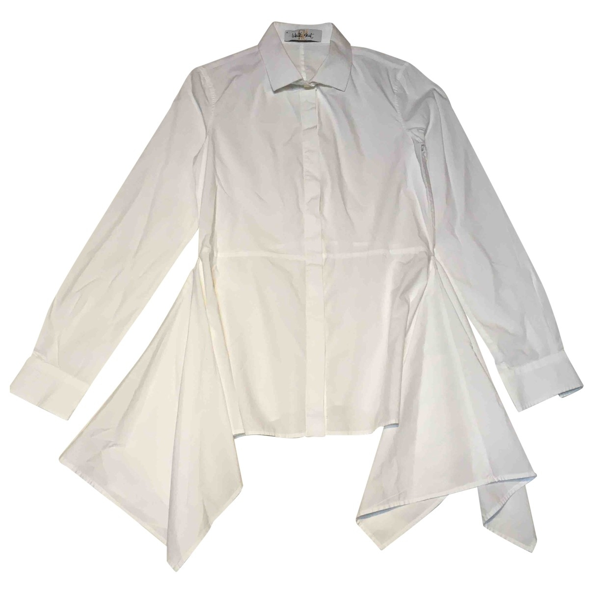 Carolina Herrera - Top   pour femme en coton - blanc