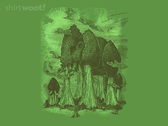 Mammoth Trees T Shirt
