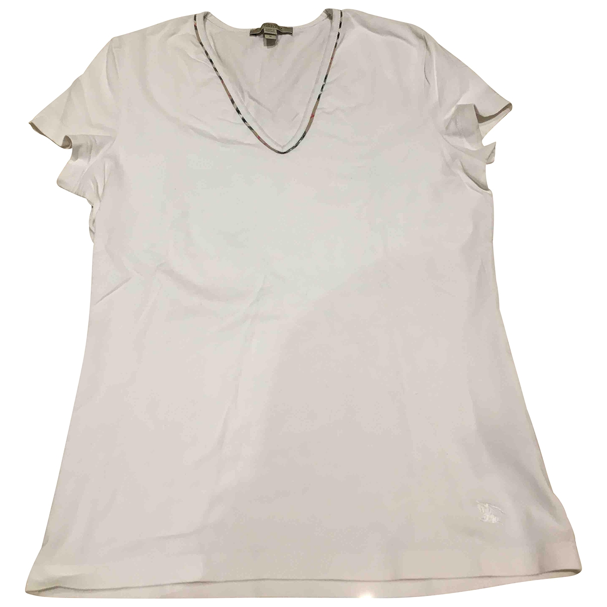 Burberry \N White Cotton  top for Women 40 IT