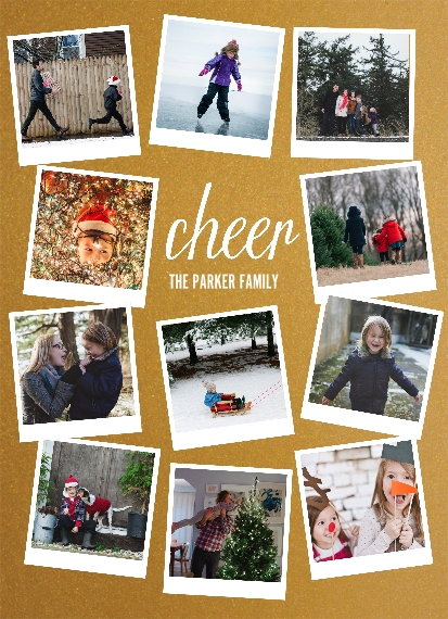Holiday 5x7 Wood Panel, Home Décor -Cheer Snapshots