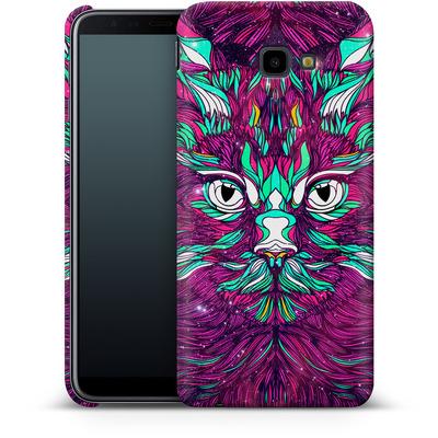 Samsung Galaxy J4 Plus Smartphone Huelle - Space Cat von Danny Ivan