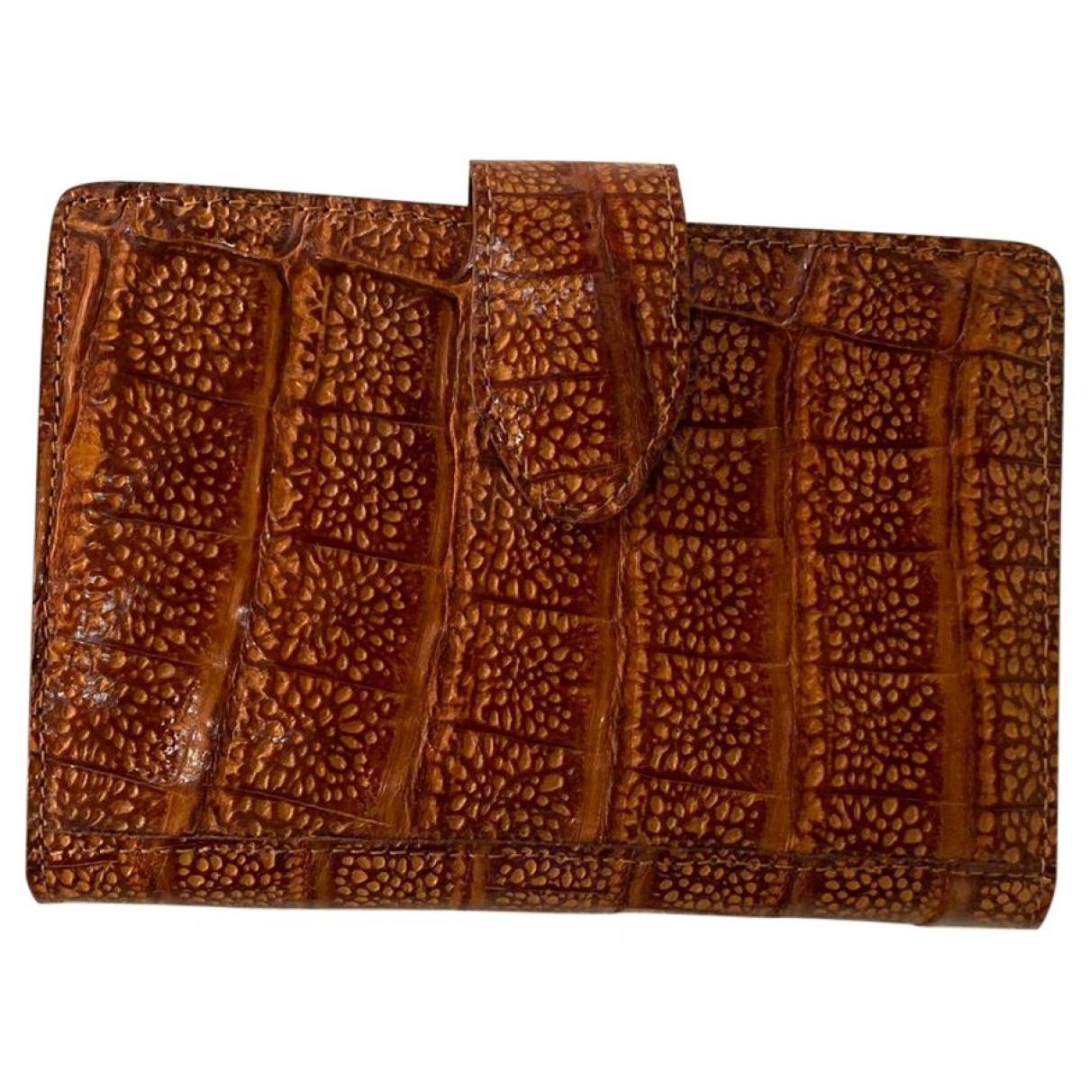 - Objets & Deco   pour lifestyle en crocodile - marron