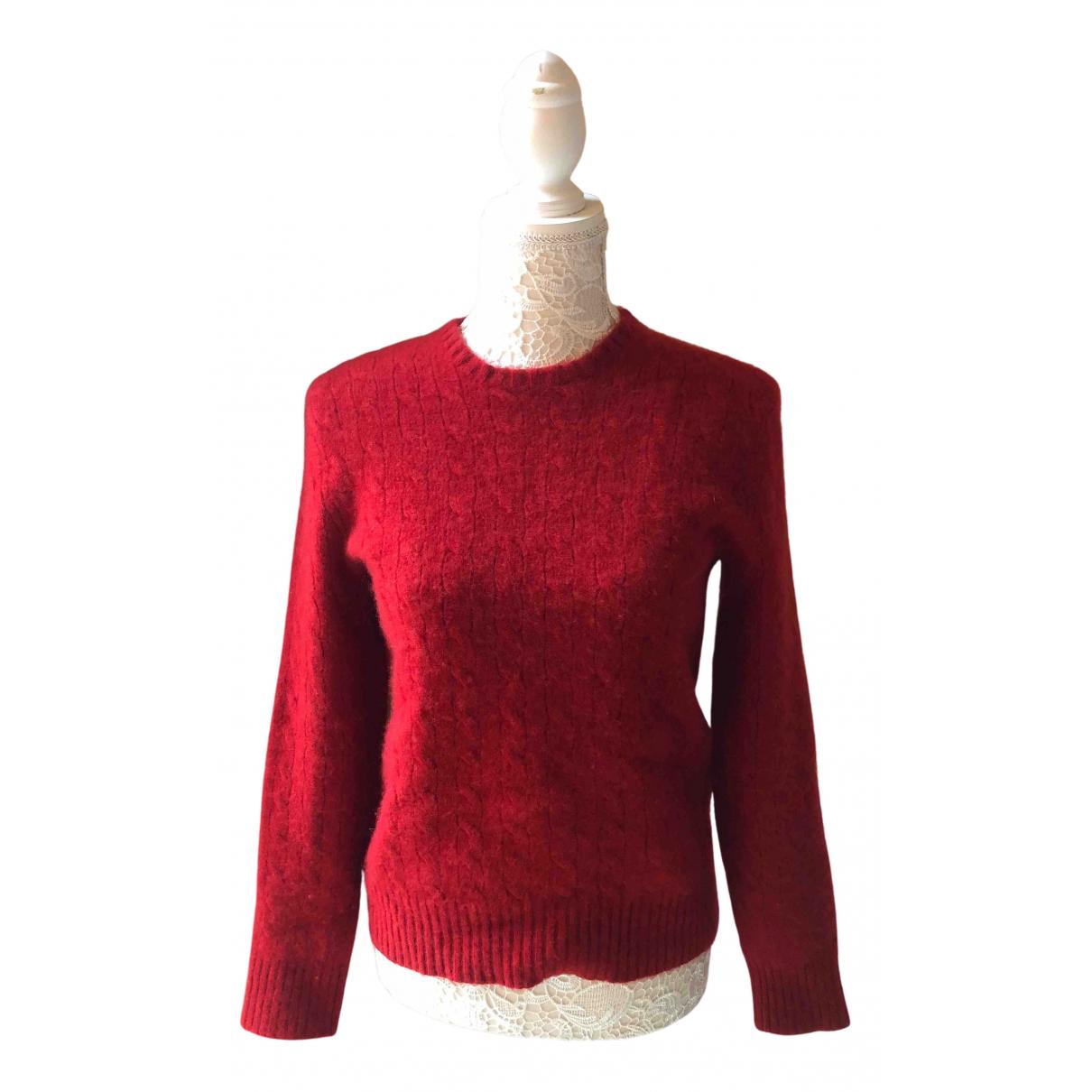 Polo Ralph Lauren - Pull   pour femme en cachemire - rouge