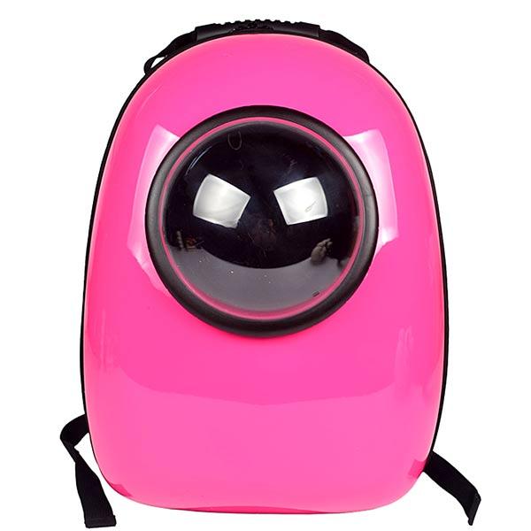 Space Capsule Shape Breathable Acrylic Shoulder Bag Pet Dog Carrier