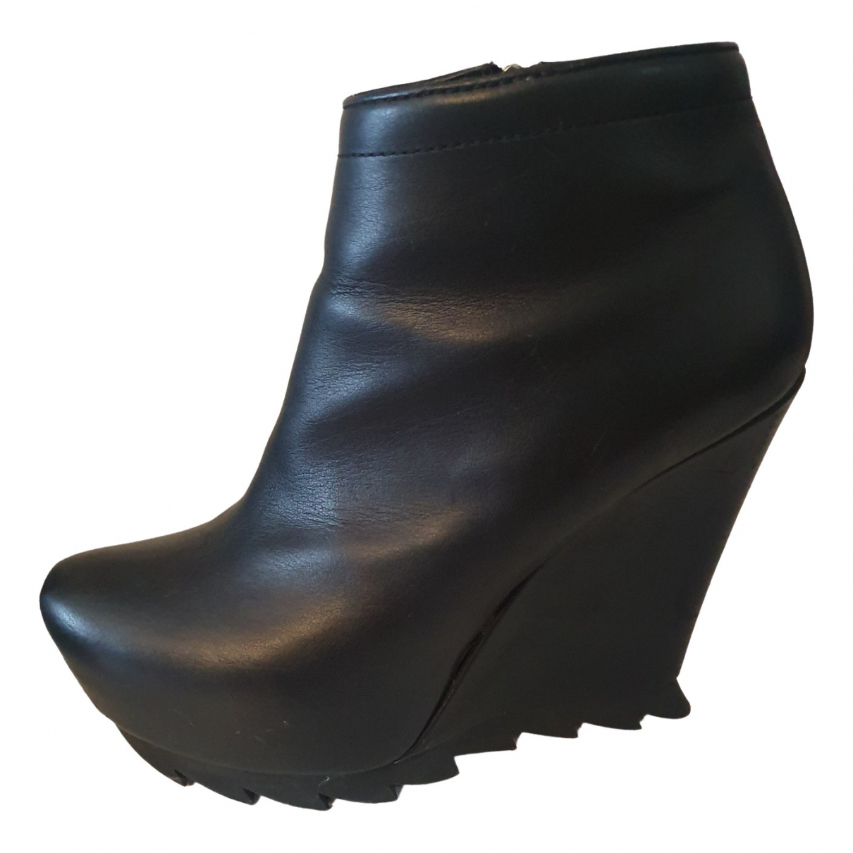 Camilla Skovgaard \N Black Leather Boots for Women 38 EU