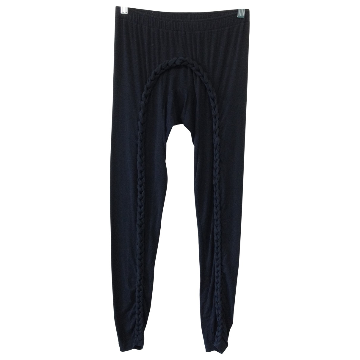 Bernhard Willhelm \N Black Cotton Trousers for Women S International