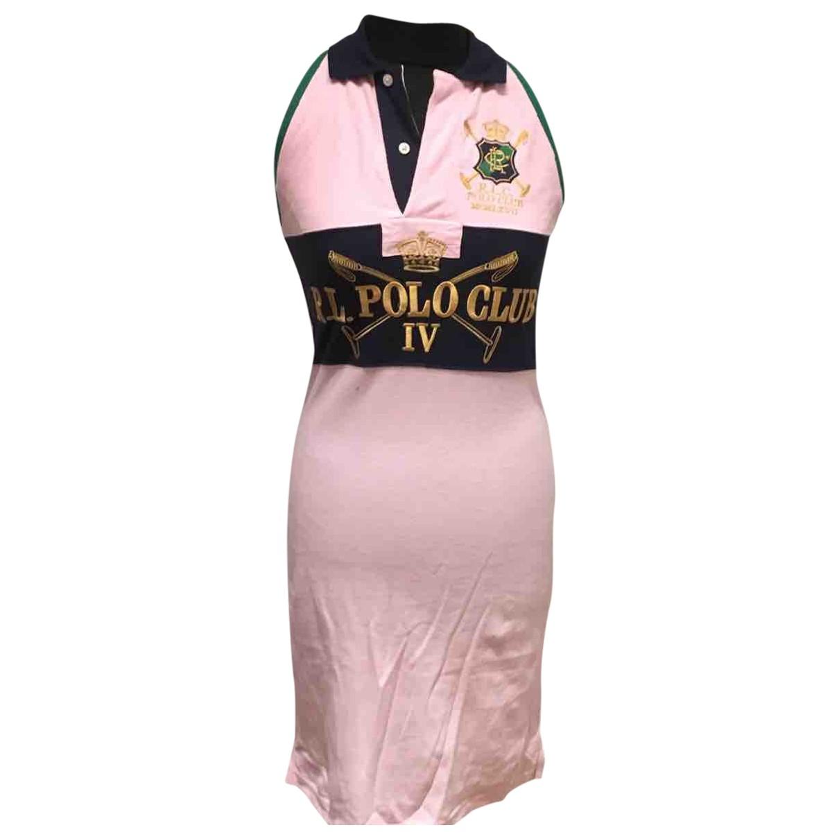 Ralph Lauren \N Kleid in  Bunt Baumwolle