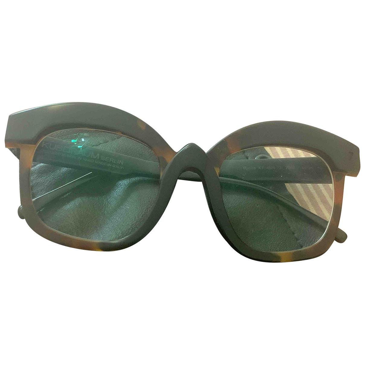 Kuboraum \N Brown Sunglasses for Women \N