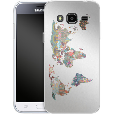 Samsung Galaxy J3 (2016) Silikon Handyhuelle - Louis Armstrong Told Us So von Bianca Green
