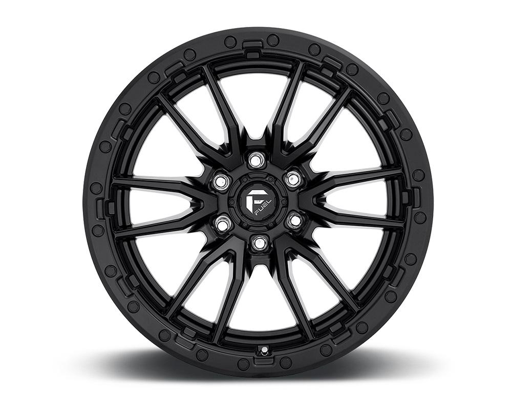 Fuel D679 Rebel Matte Black 1-Piece Cast Wheel 18x9 6x139.7 -12mm