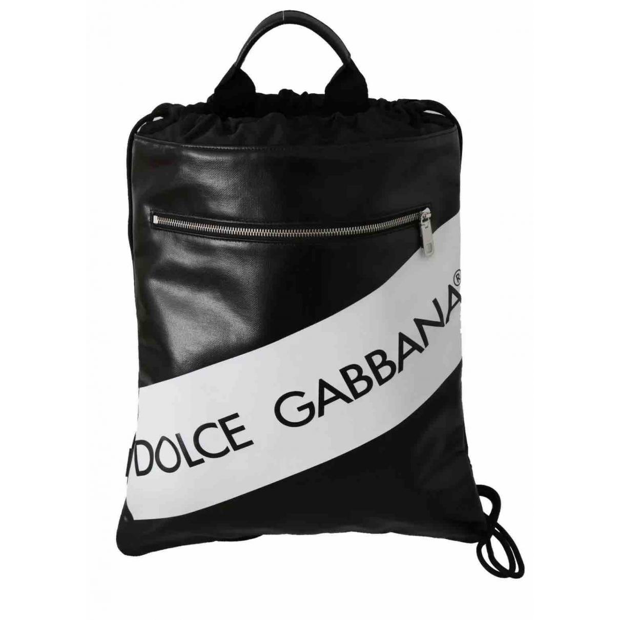 Dolce & Gabbana - Sac   pour homme en toile - noir