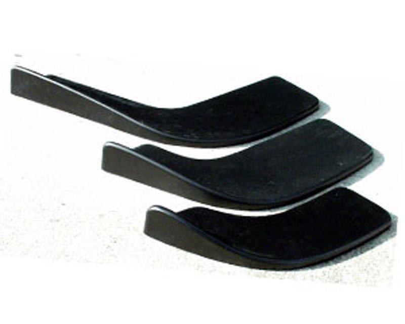 Charge Speed Universal Carbon Cup Spoiler Small Size (CFRP) Pair