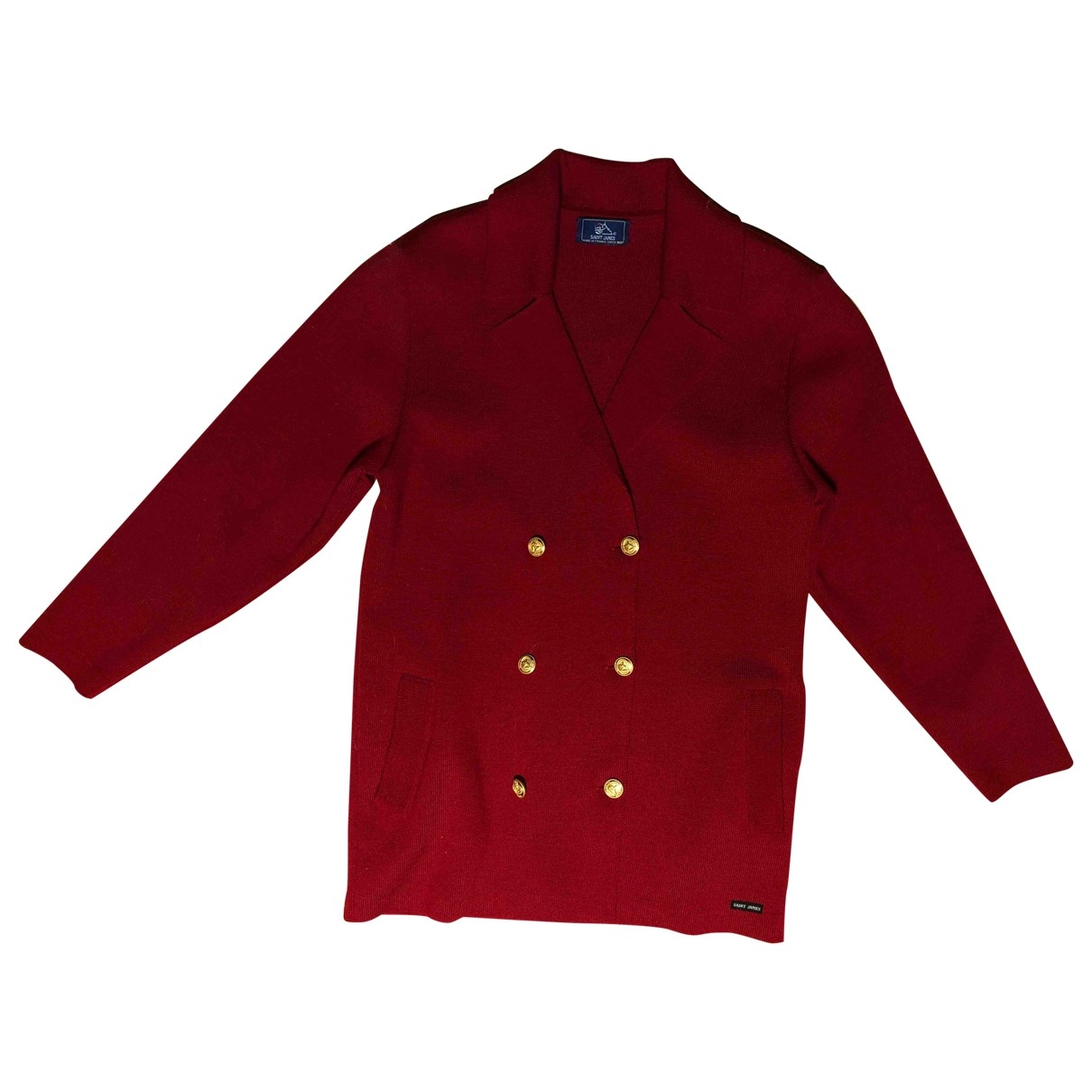 Saint James \N Burgundy Wool Knitwear for Women 38 FR