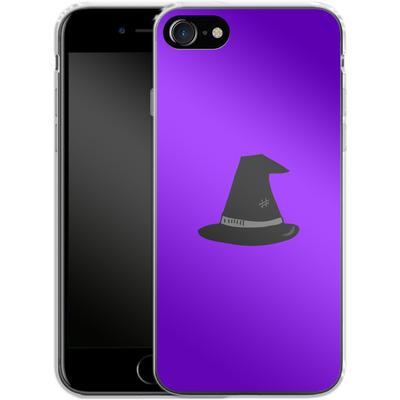Apple iPhone 8 Silikon Handyhuelle - Witches Hat von caseable Designs