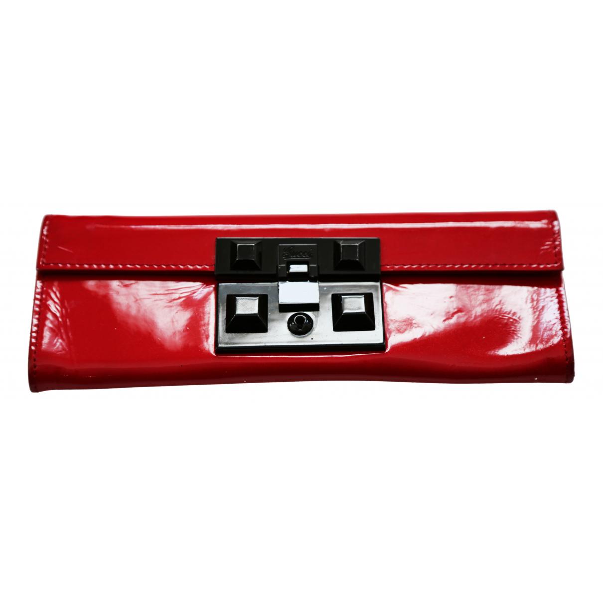 Gucci - Pochette   pour femme en cuir - rouge