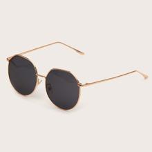 Maenner Sonnenbrille mit metallischem Rahmen