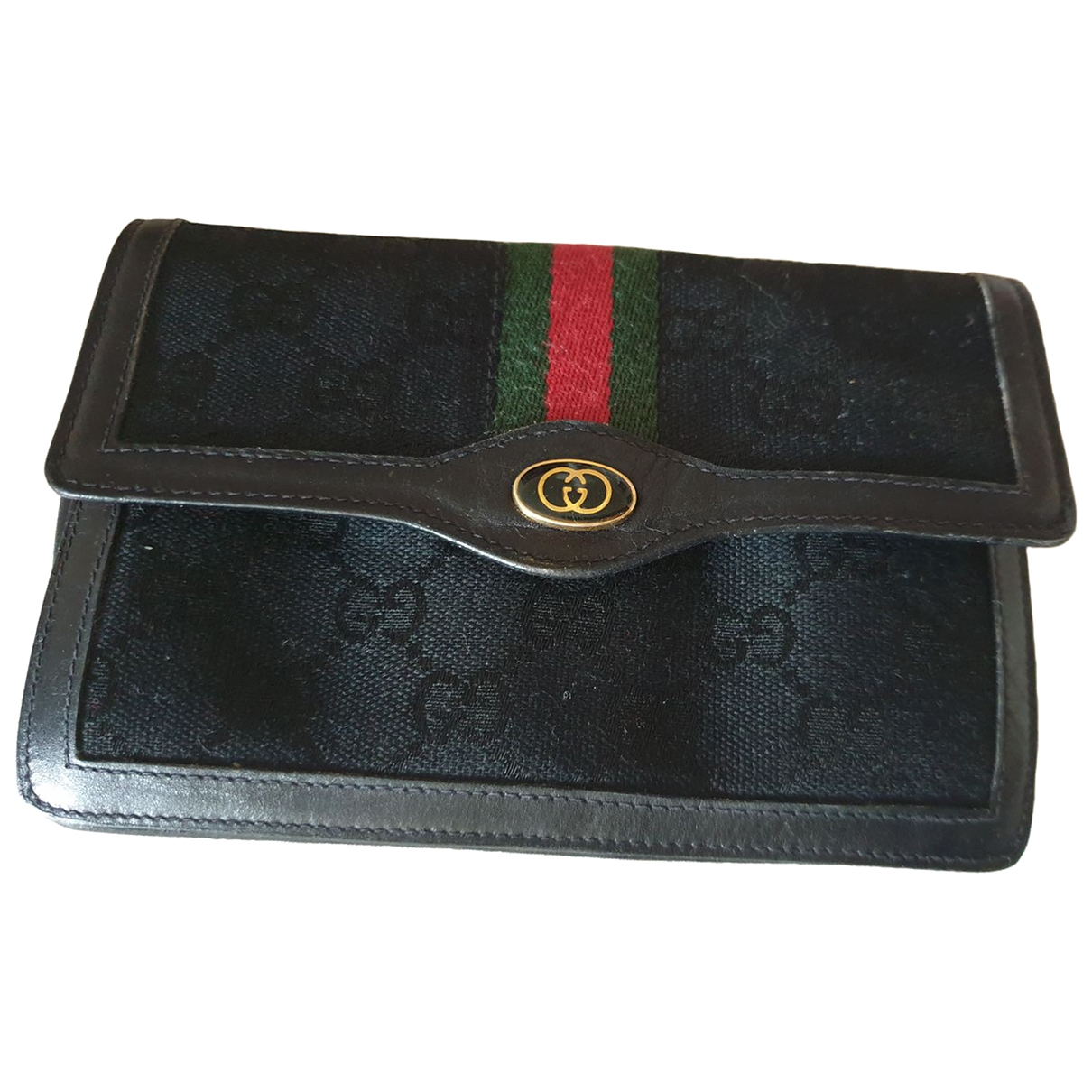 Gucci Ophidia Black Cloth Purses, wallet & cases for Women \N