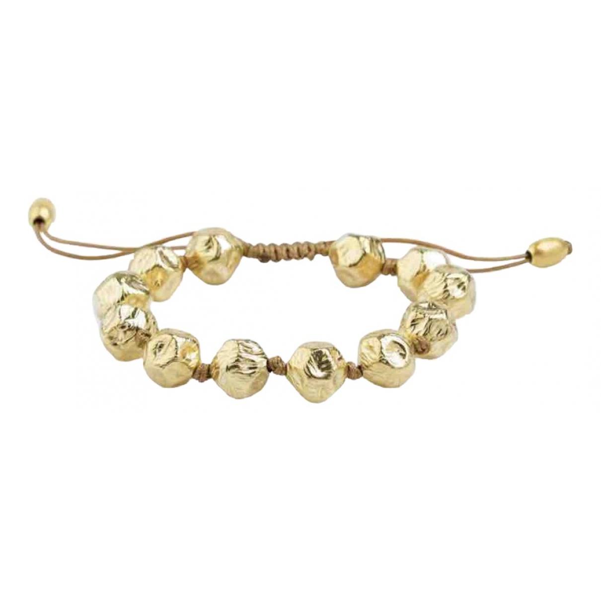 - Bracelet   pour femme en argent - dore