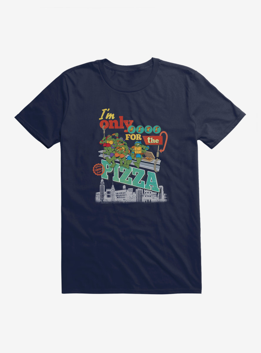Teenage Mutant Ninja Turtles Only Here For The Pizza T-Shirt