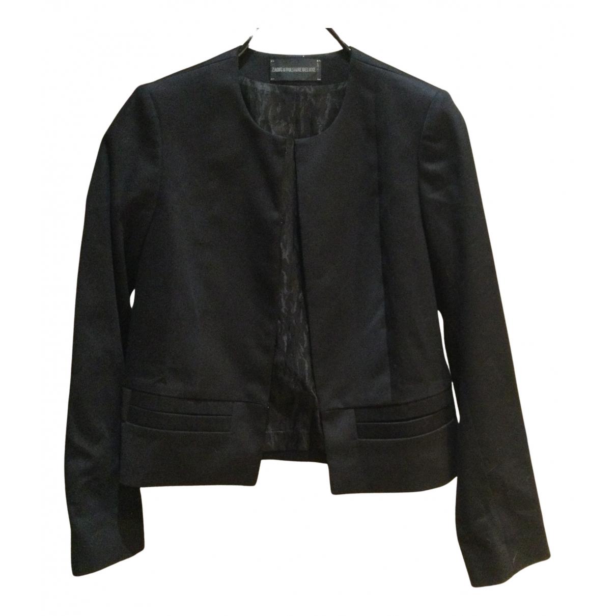 Zadig & Voltaire - Veste   pour femme en coton - noir