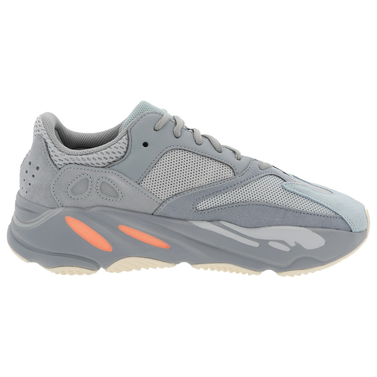 Yeezy X Adidas Boost 700 V2 Grey Suede Trainers for Men 10 US