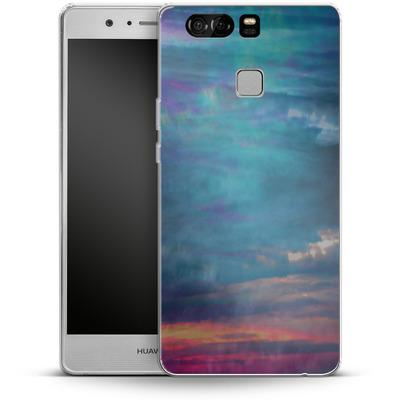 Huawei P9 Silikon Handyhuelle - Ocean Sky von Amy Sia