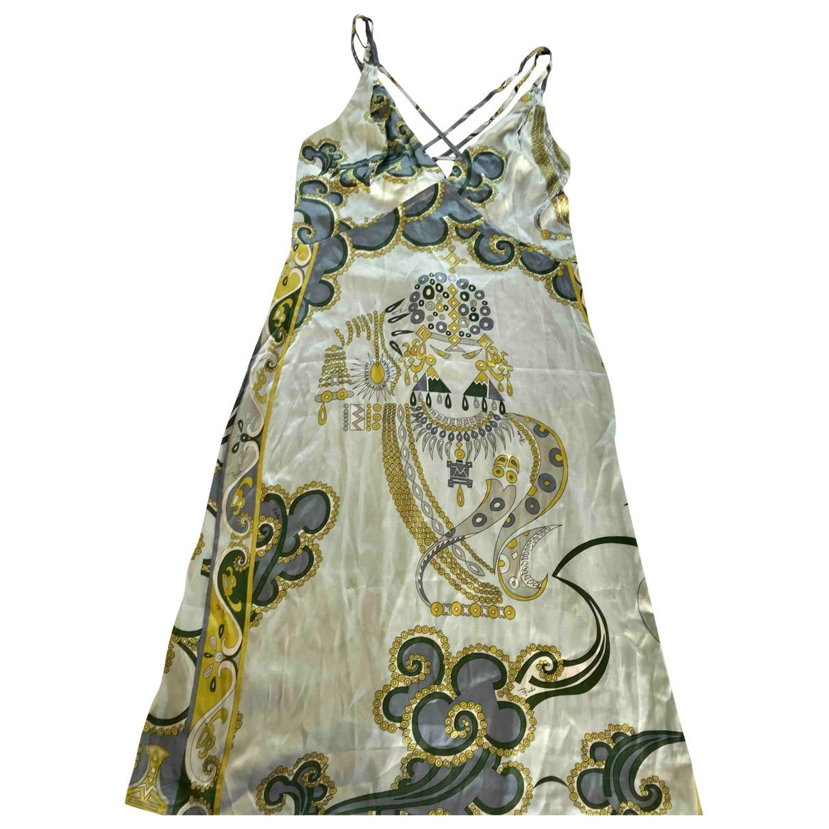 Emilio Pucci \N Silk dress for Women 44 IT