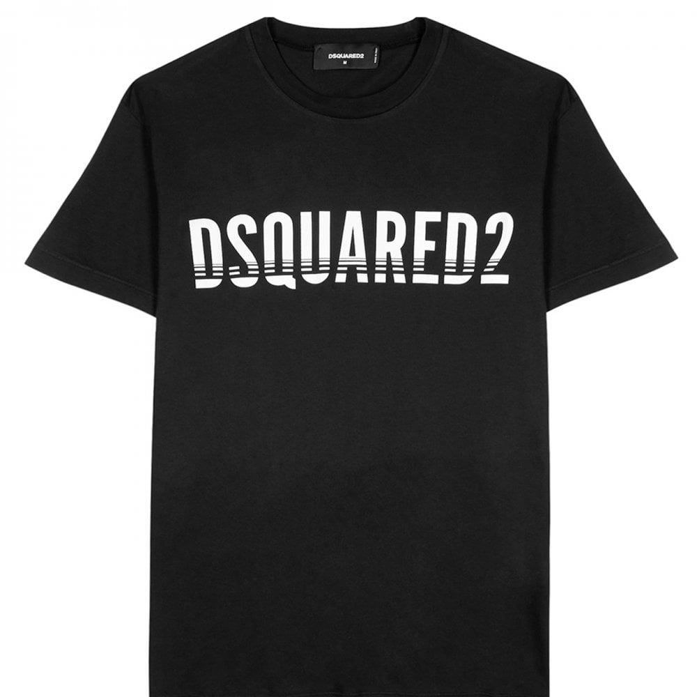 Dsquared2 Classic Logo T-Shirt Colour: BLACK, Size: EXTRA EXTRA LARGE