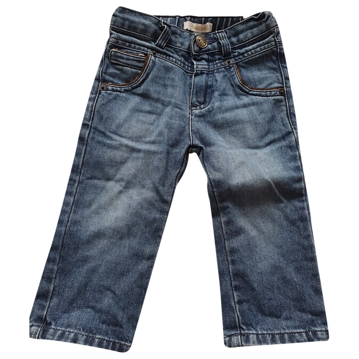 Roberto Cavalli \N Blue Denim - Jeans Trousers for Kids 12 months - up to 74cm FR