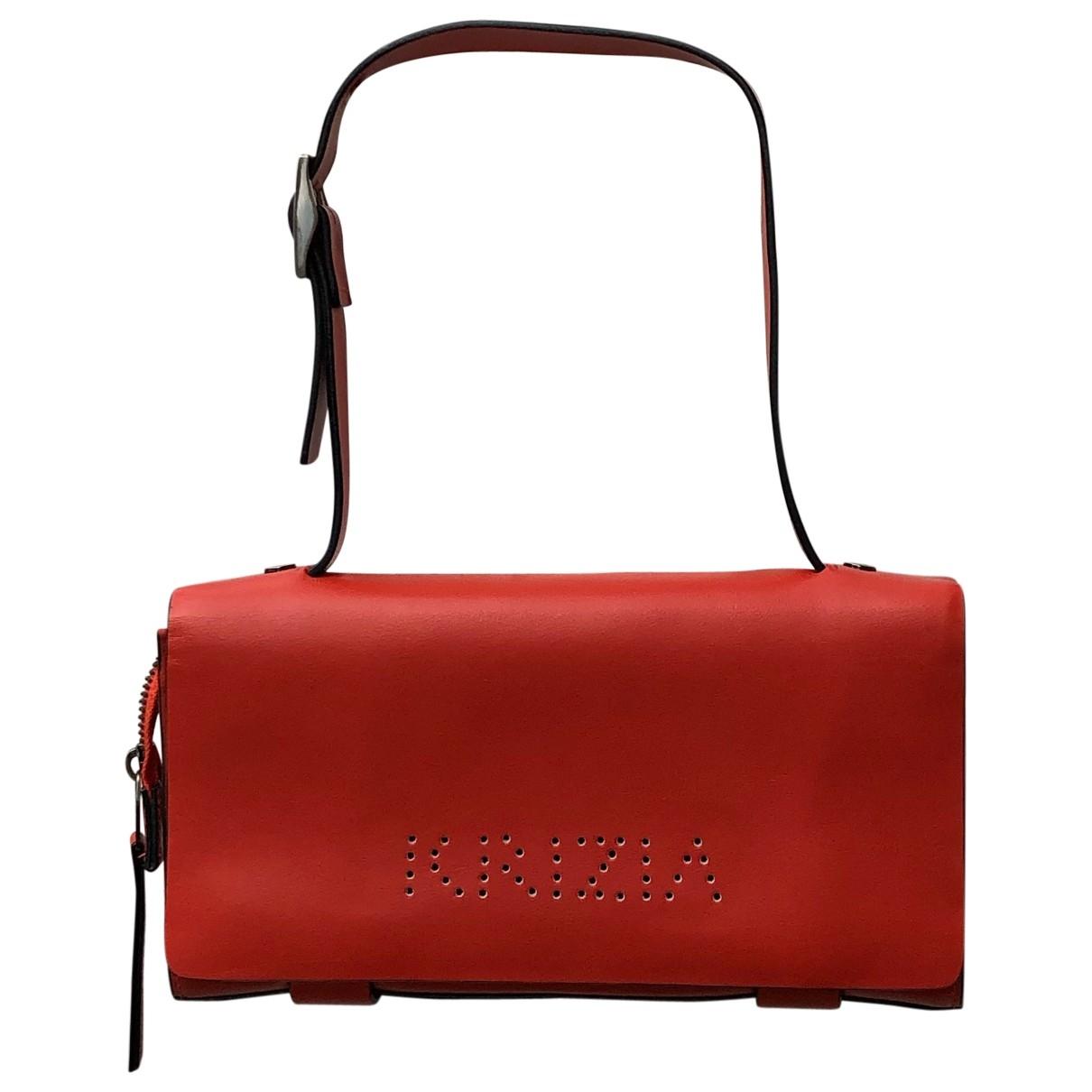 Krizia \N Red Leather handbag for Women \N