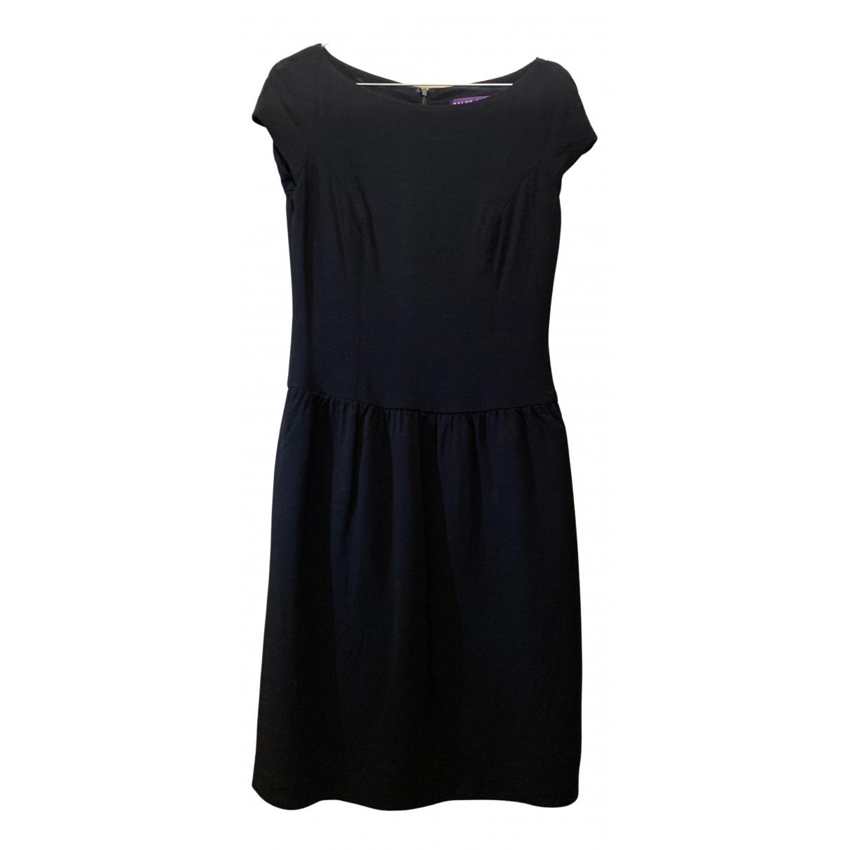 Ralph Lauren Collection \N Kleid in  Schwarz Wolle