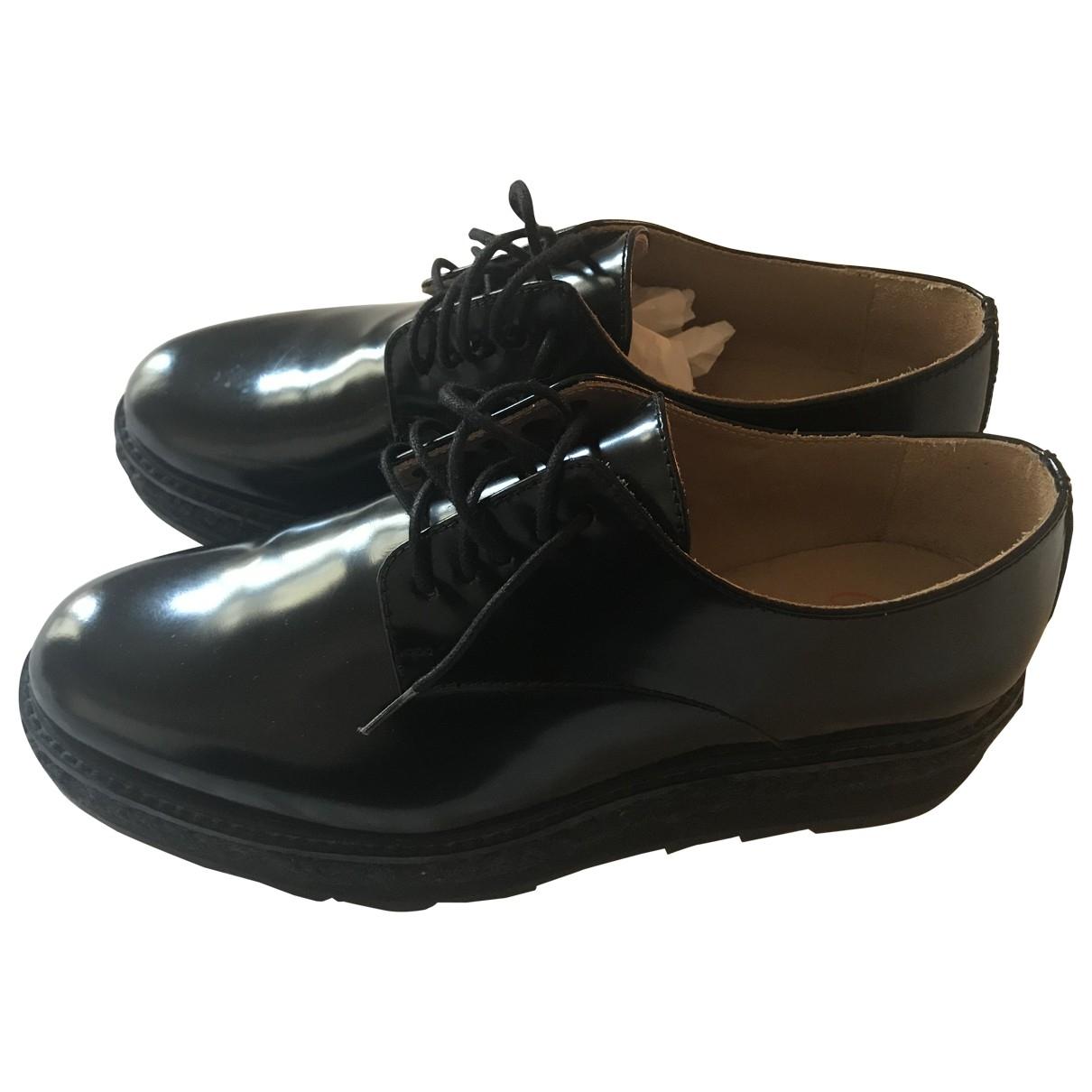 Castaner - Derbies   pour femme en cuir - noir
