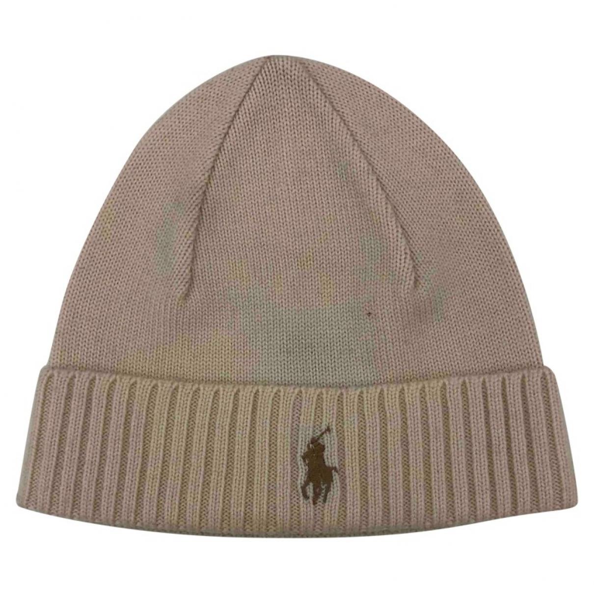 Polo Ralph Lauren - Chapeau & Bonnets   pour homme en laine - blanc