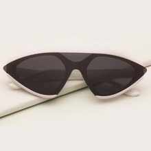 Gafas de sol de ojo de gato de hombres de montura plana