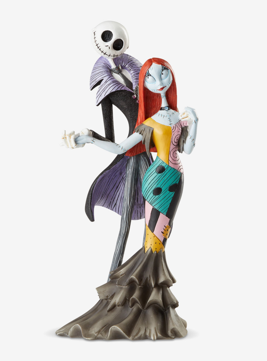 The Nightmare Before Christmas Jack and Sally Deluxe Fig Figure