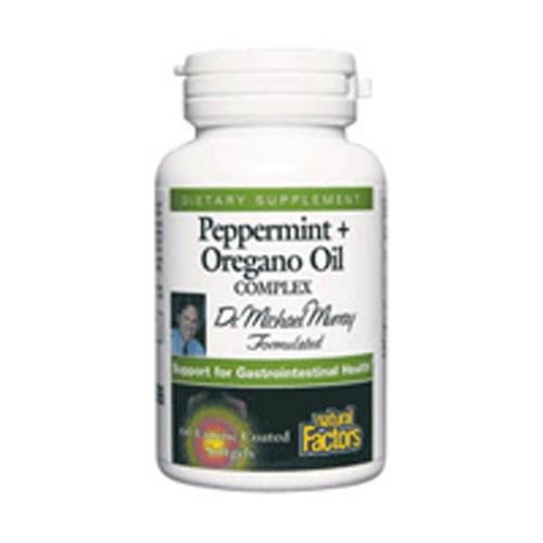 Peppermint & Oregano Oil Complex 60 Softgels by Natural Factors