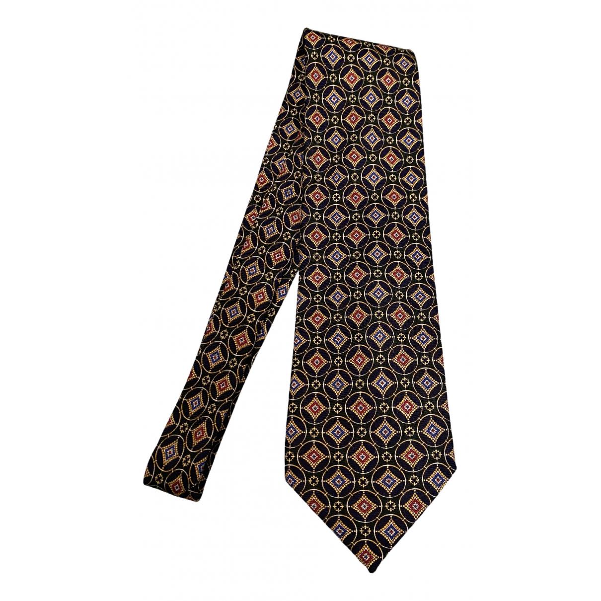 Fendi \N Krawatten in  Braun Seide
