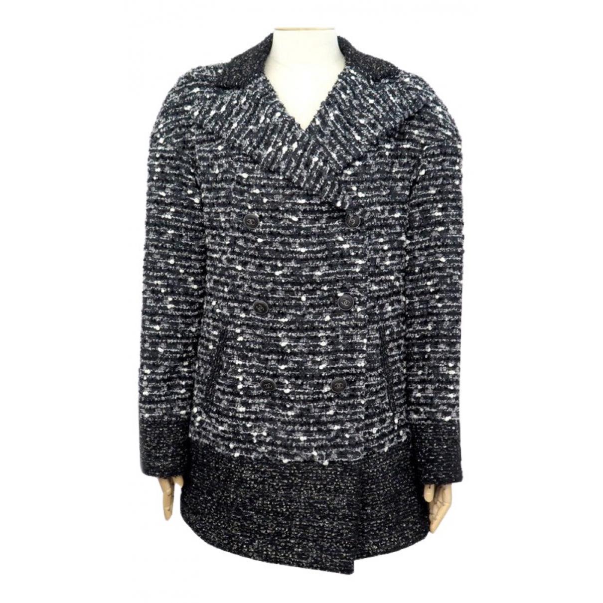 Chanel \N Black Tweed coat for Women M International