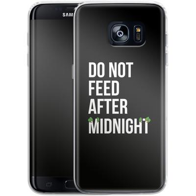 Samsung Galaxy S7 Edge Silikon Handyhuelle - After Midnight von caseable Designs